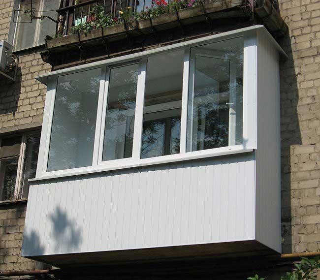 Застеклить балкон своими руками в хрущевке