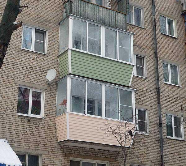 Как застеклить балкон в хрущевке варианты, инструкции, цены.