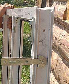 Vgradnja plastičnih oken v kovinski okvir