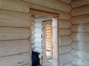 подготовка оконных проемов в деревянном доме