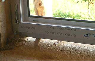 Установка окон пвх в деревянном доме без окосячки 149