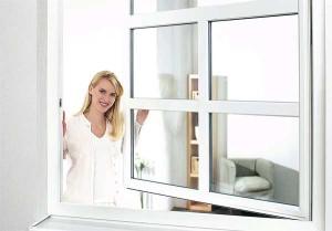 В феврале установили металлопластиковые окна REHAU