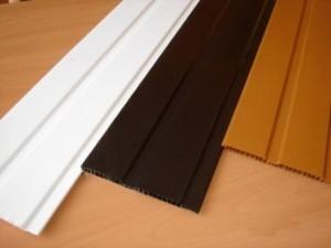Обычные пластиковые панели для обшивки