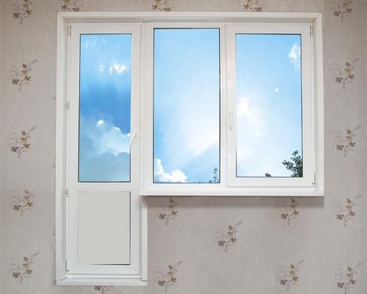 Крепление штор на пластиковые окна