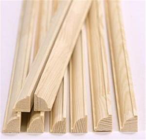 Штапик оконный деревянный