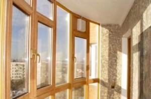 Остекление деревянных окон
