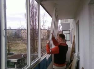 Первые шаги в утеплении балкона