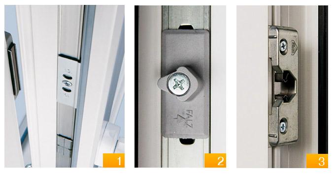 Магнитные запорные механизмы дверей