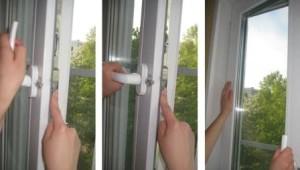 Заклинила оконная ручка в открытом положении окна