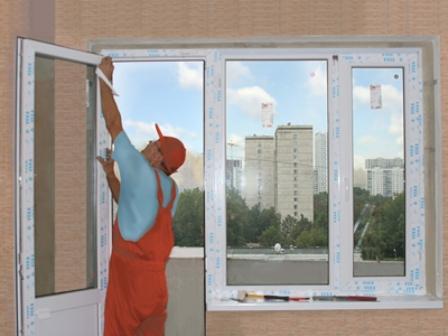 Пленка на пластиковые окна защитная