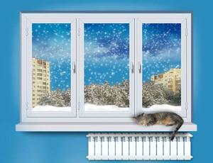 Когда хватает установки однокамерного металлопластикового окна
