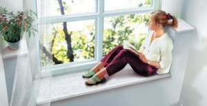 Однокамерное окно в квартире
