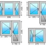 Бывают ли стандартные размеры у пластиковых окон