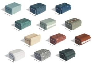 Виды и типы подоконников из искусственного камня