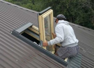 Как правильно установить мансардное окно