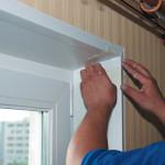 Как сделать и установить откосы на окнах из пластика ПВХ