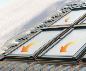 Мансардные окна с подогреваемым стеклопакетом