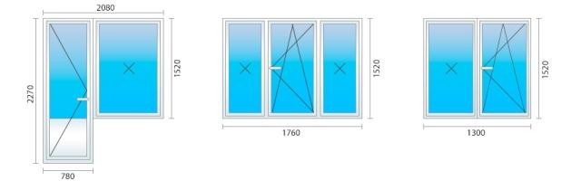 Размер окон в типовой Хрущевке