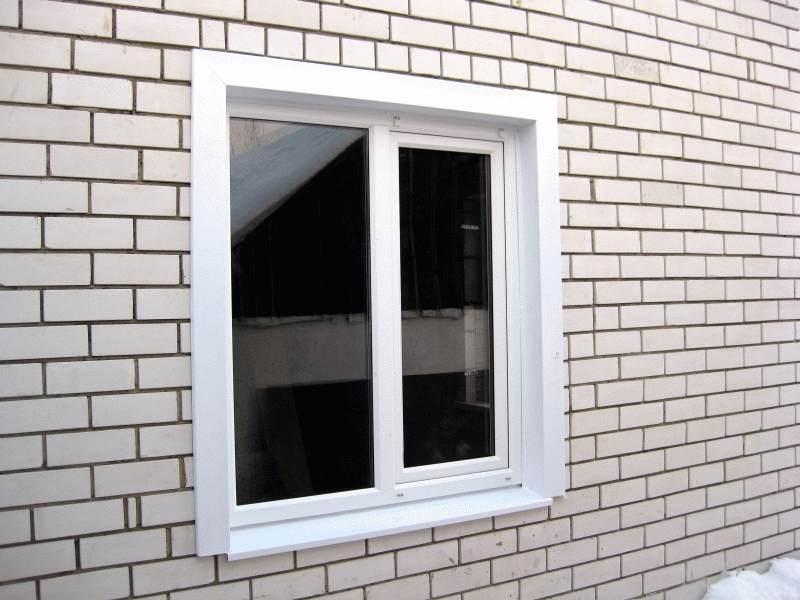 Пластиковые откосы на окна своими руками снаружи видео