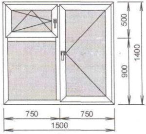 Пластиковые окна с форточкой с завода по низким ценам