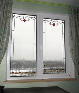 Главные конфигурации витражей на окнах
