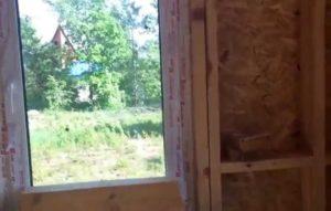 Эффективность пластиковых окон в каркасных строениях