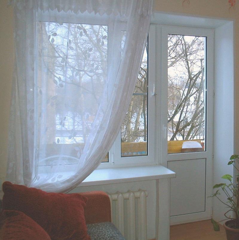 ПВХ окна просты в уходе