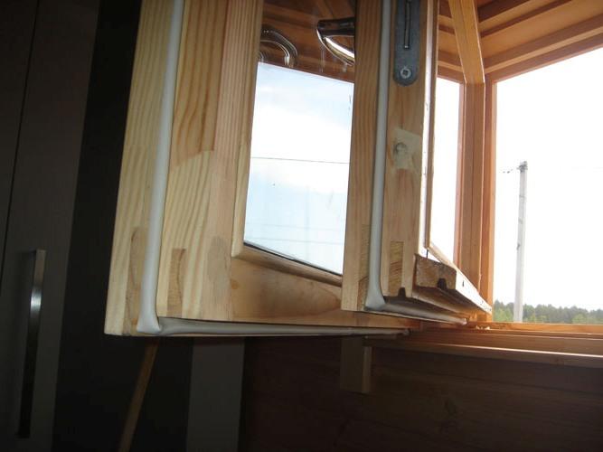Деревянные окна текут что делать