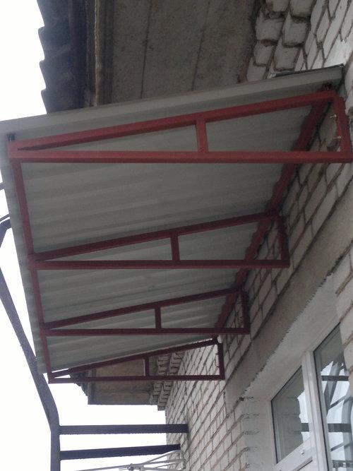 Как сделать крышу балкона на последнем этаже
