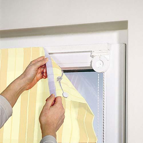 Установка рулонных кассетных штор на пластиковые окна