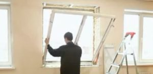 Как разобрать пластиковое окно своими руками