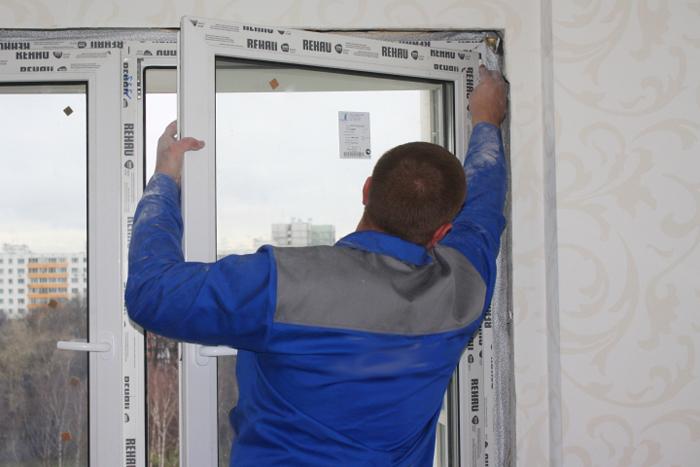 Как самостоятельно снять с петель пластиковое окно